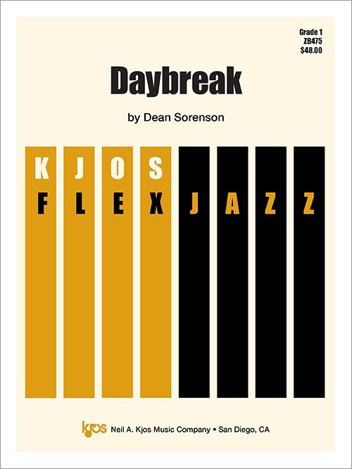 Daybreak (Jazz Combo - Score and Parts)