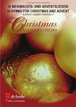 10 Weihnachts- und Adventslieder   Wind Band Set (Score & Parts)