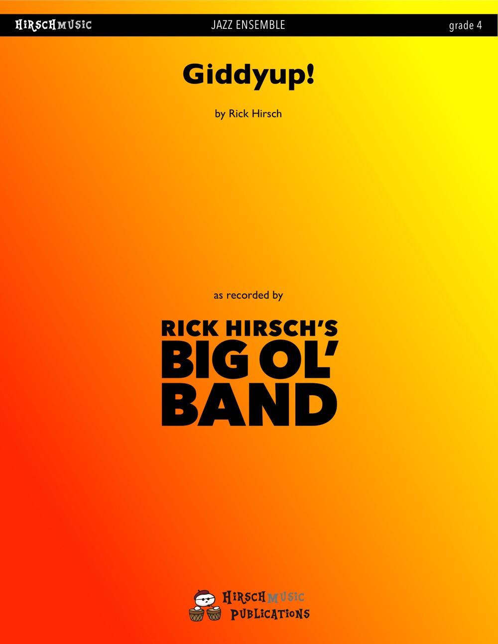 Giddyup! (Jazz Ensemble - Score and Parts)