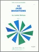10 JAZZ INVENTIONS (AA Saxophone Duet)