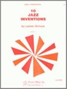 10 JAZZ INVENTIONS (2 Trombones)