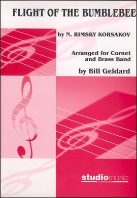 FLIGHT OF THE BUMBLE BEE (B flat Cornet/Brass Band)